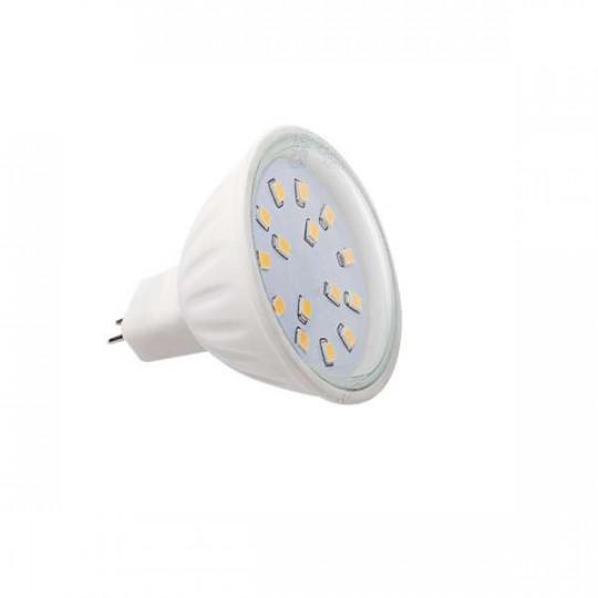 Ampoule LED Gx5,3 4,5W MR16 équivalent à 34W - Blanc Chaud 3000K