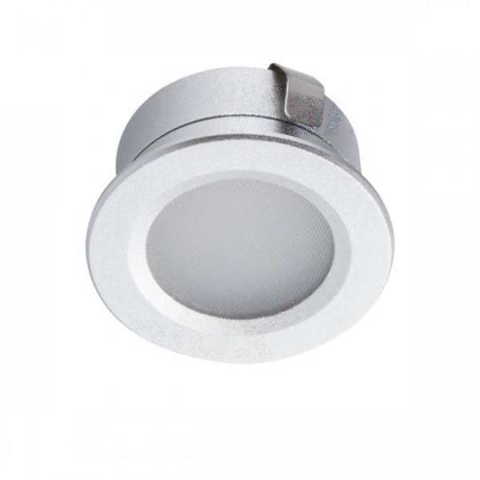 Downlight LED 1W étanche IP65 rond ∅30mm Aluminium - Blanc du Jour 6500K