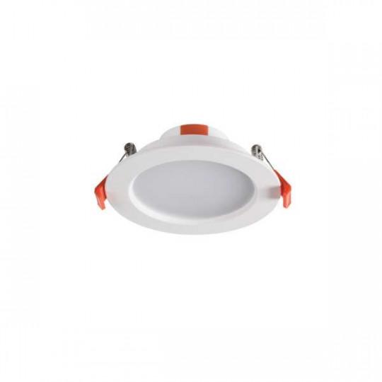 Downlight LED 6W rond ∅109mm Blanc - Blanc Naturel 4000K