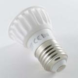 Ampoule LED E27 4W céramique lumière 40W Blanc Chaud (2700K)