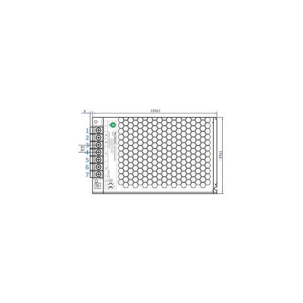 Alimentation à découpage LED 150W 24V pour LED