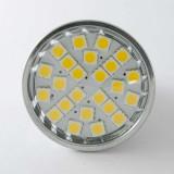 Ampoule Spot MR16 3,5W éclairage 40W Blanc Chaud (2700K)