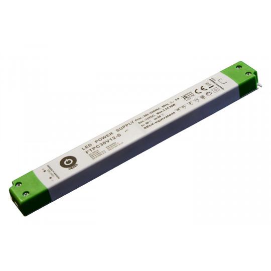 Alimentation LED 30W 12VDC 2,5A FTPC30V12 IP20