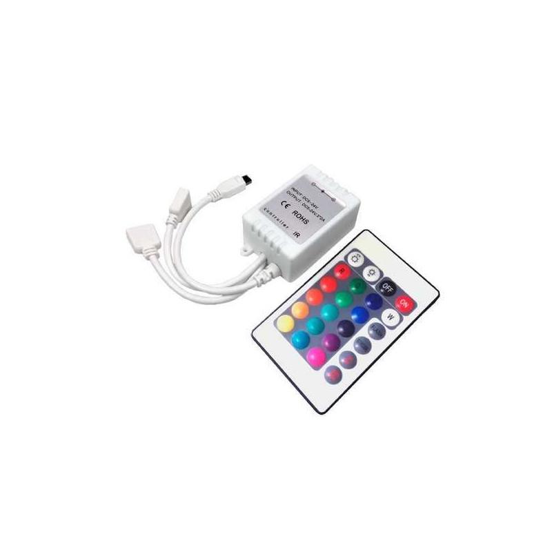 Contrôleur et télécommande RGB infrarouge