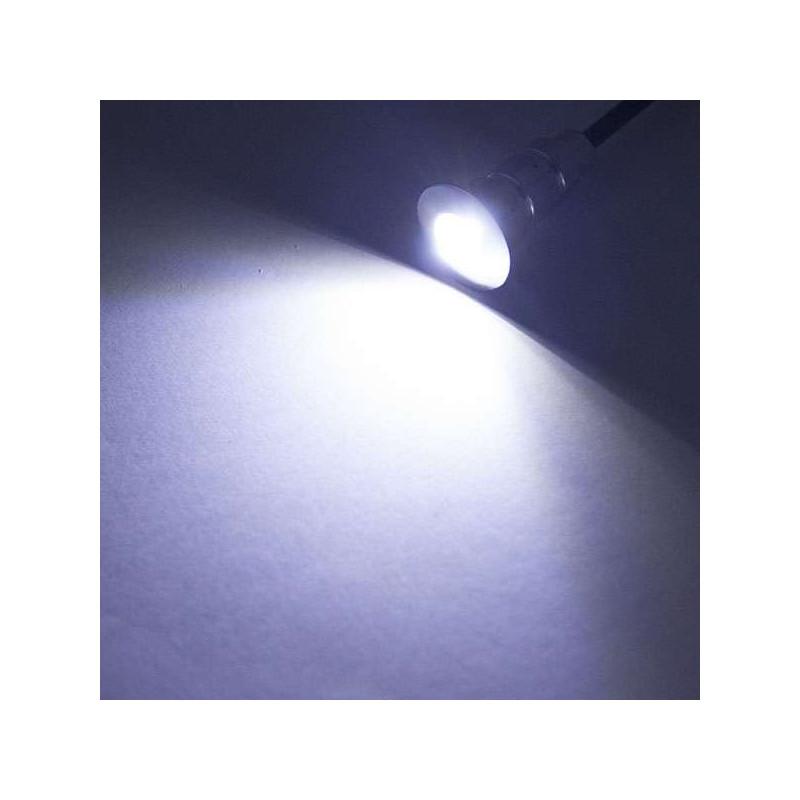 Pack Mini Spots LED Ronds Étanches SP-E02 - Tout Compris