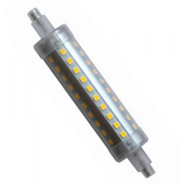 Ampoule LED R7S 10W 118mm 220V équivalent 80W