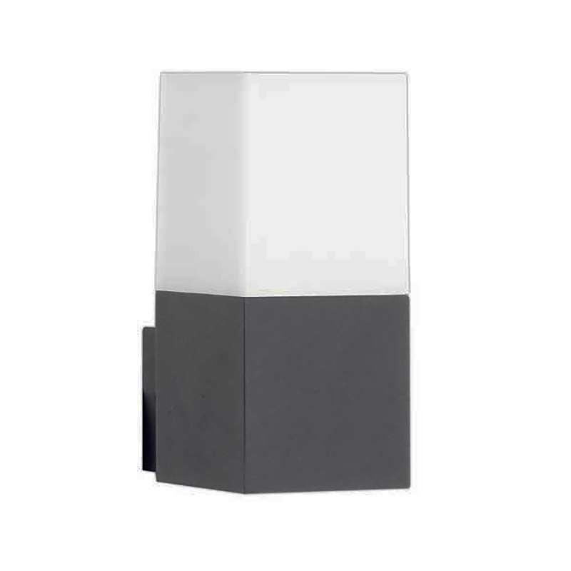 Applique gris foncé étanche IP44 ampoule E27