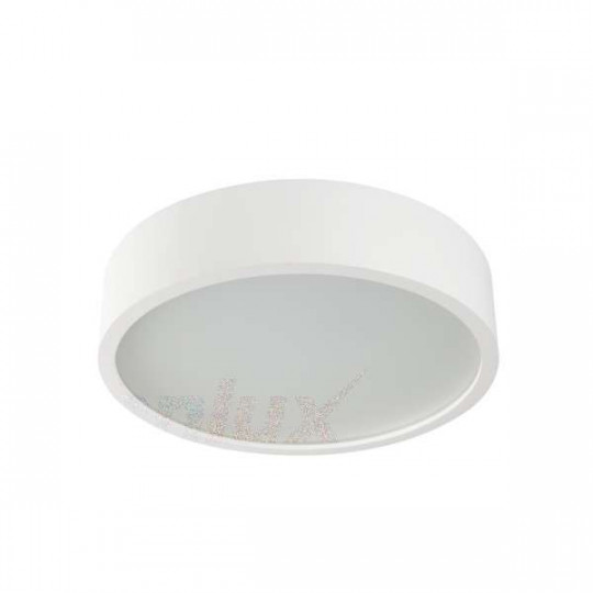 Plafonnier à Culot 1 x E27 rond ∅275mm Blanc mat