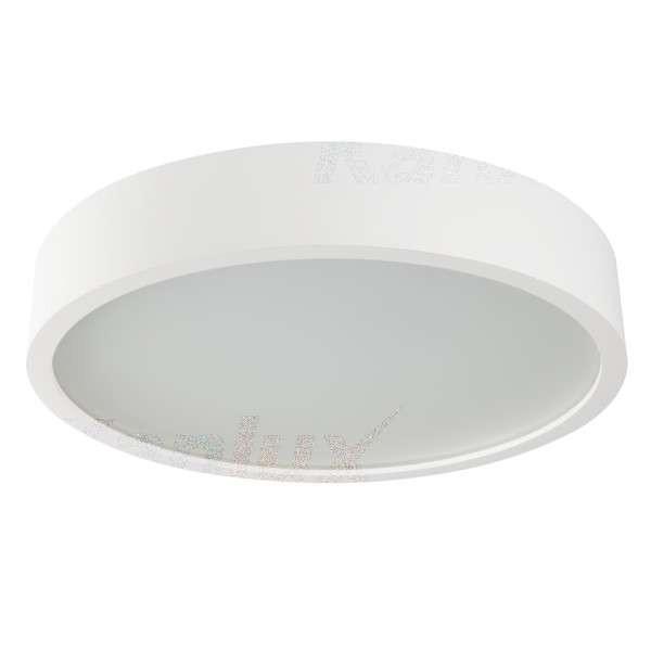 Plafonnier à Culot 3 x E27 rond ∅475mm Blanc mat