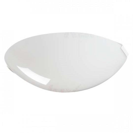 Diffuseur plastique pour Plafonnier à Culot 1 x E27 rond ∅250mm Blanc