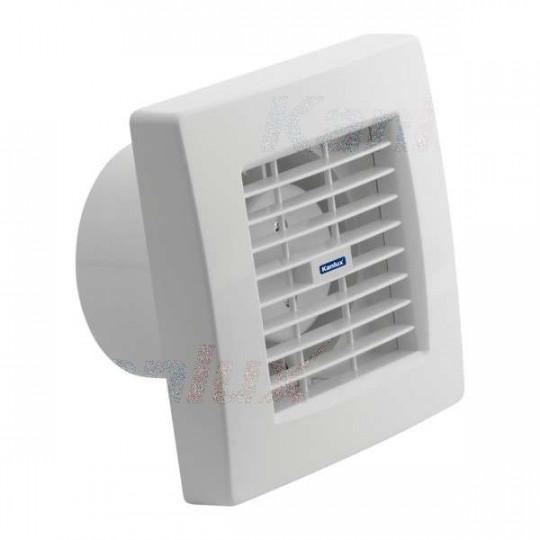 Extracteur d'air 20W Blanc - débit d'air 150m3/h