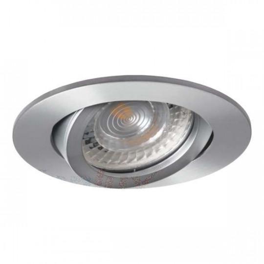 Support de spot encastrable perçage 70-75mm rond Aluminium