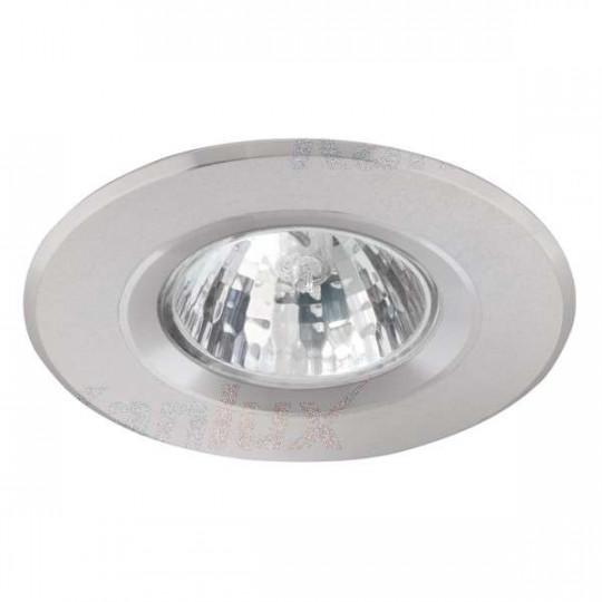 Support de spot encastrable perçage 60-70mm rond Aluminium