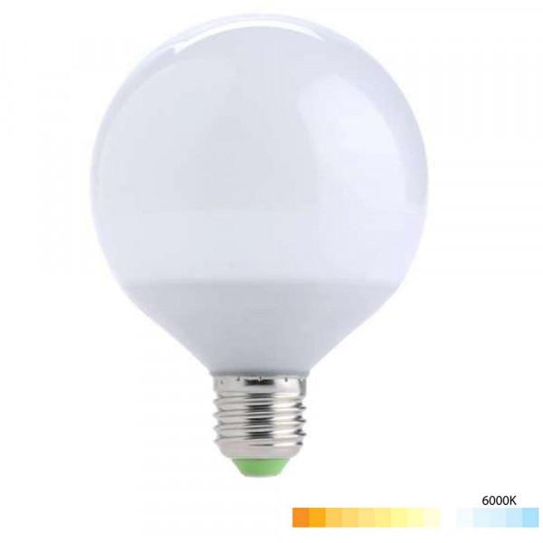 Ampoule E27 15W (eq. 100W) Globe G120 LED - Blanc du Jour 6000K