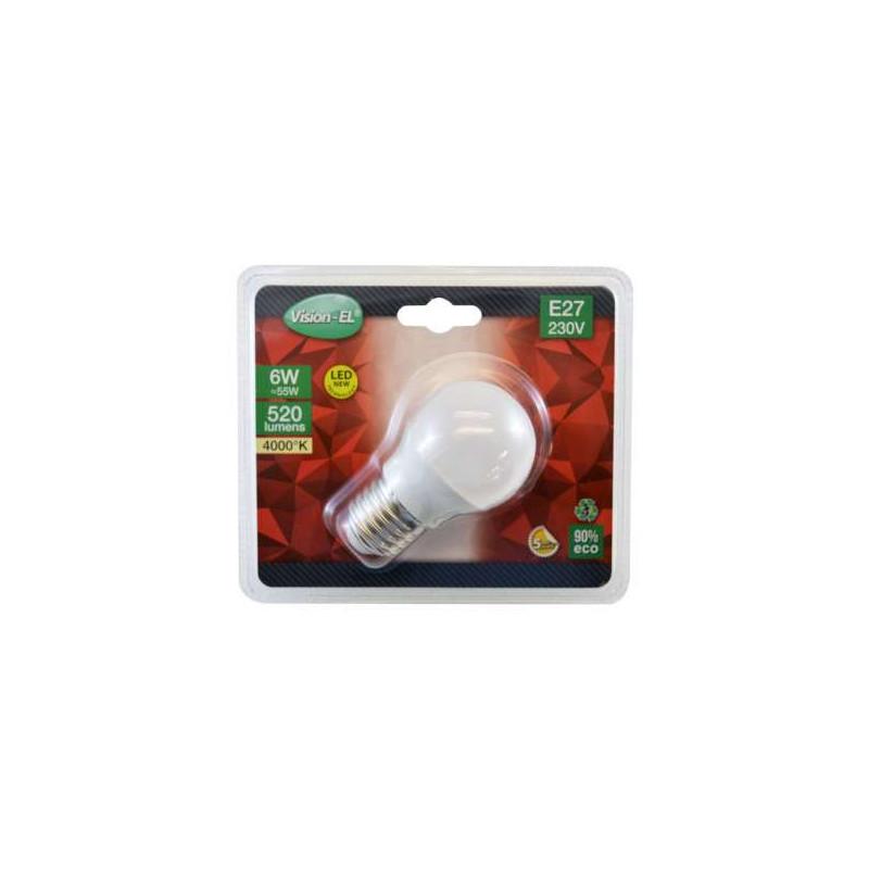 Ampoule à LED E27 6W G45 Dépolie