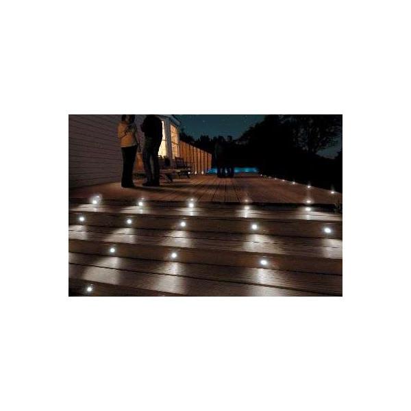 Mini Spot LED Encastrable 0,5W RGB Multicolore