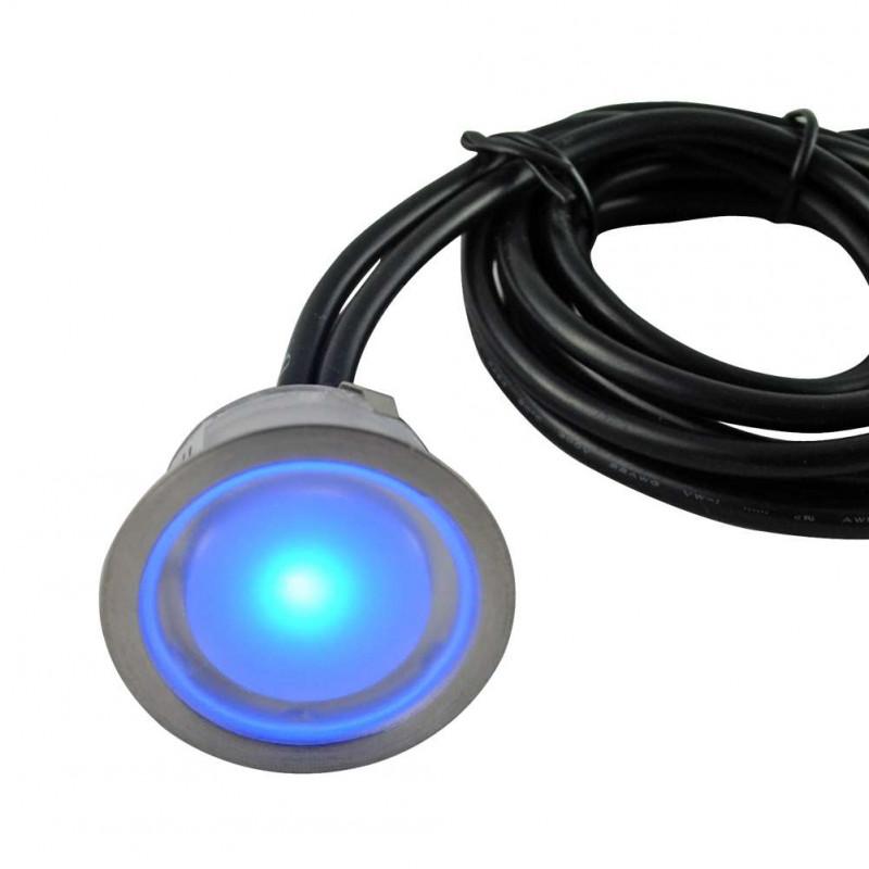 Mini Spot LED Encastrable 0,5W RGB...