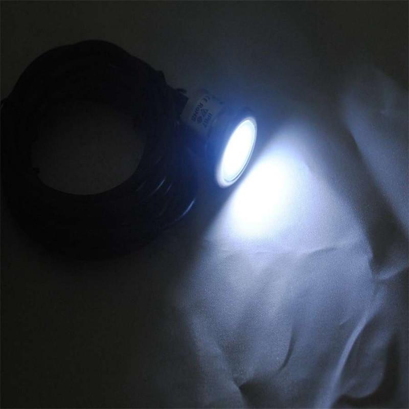 Micro spot LED à encastrer 0,8W 12V