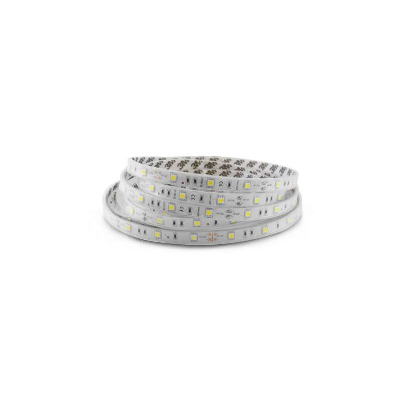 Bandeau LED 5m 60 LED/m 7,2W/m IP65 -...
