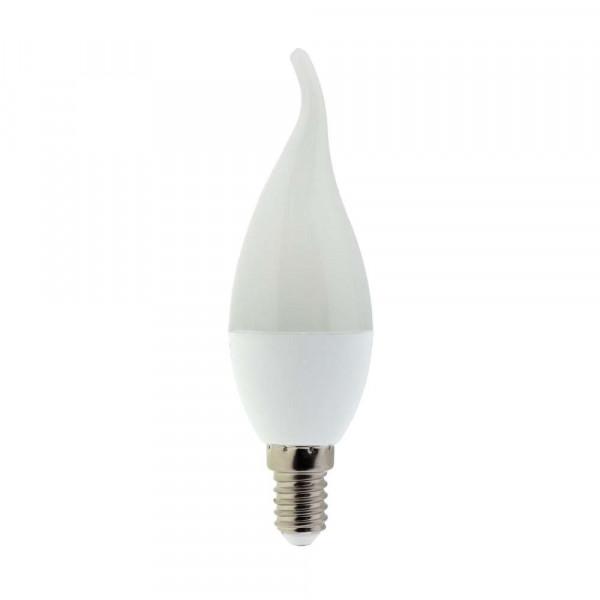Ampoule LED E14 6W Flamme coup de vent - Blanc Chaud 2700K