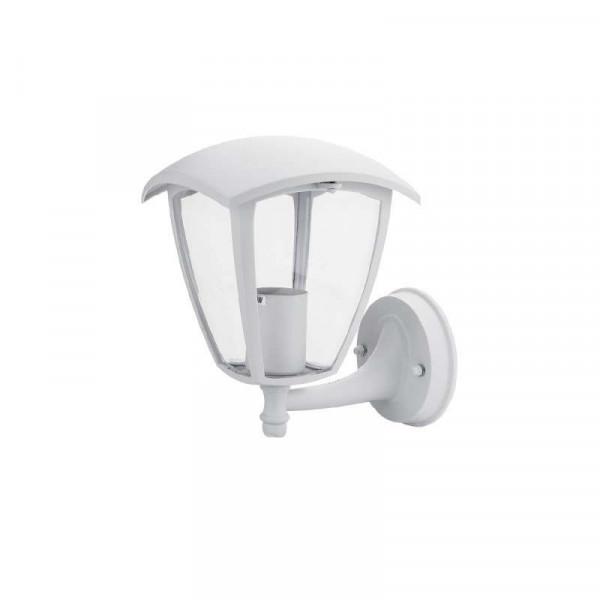 Applique E27 Aluminium Blanche étanche IP44