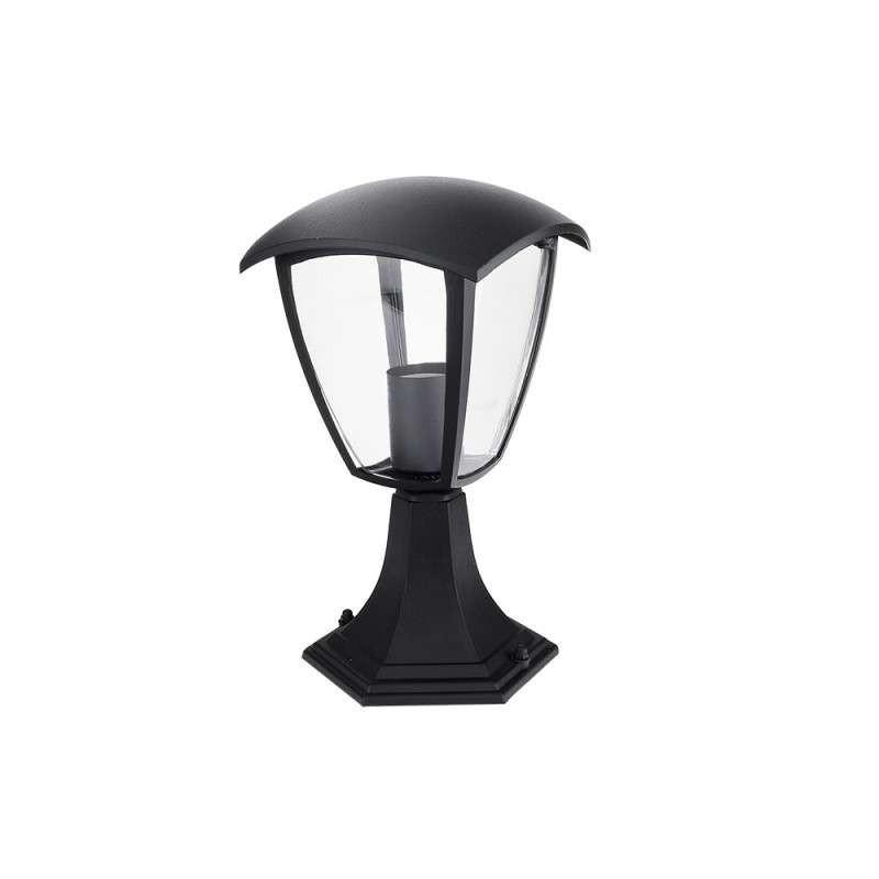 Lanterne 220V E27 Noire étanche IP44...