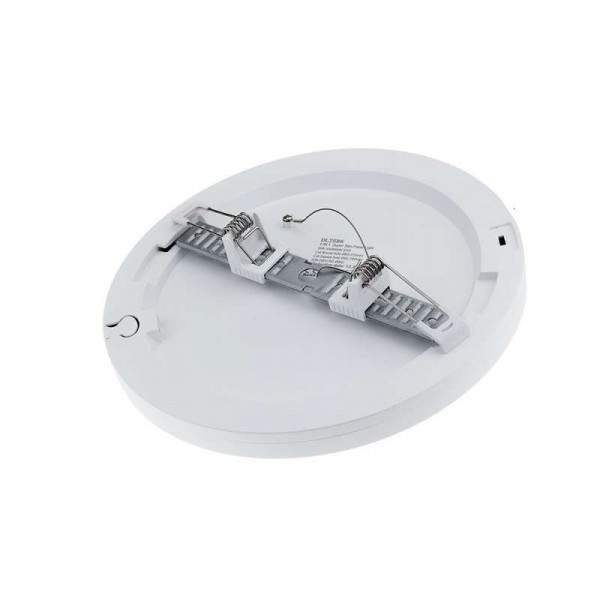 Plafonnier LED Rond 18W Extra Plat Équivalent 150W Dimmable - Blanc Chaud 2700K