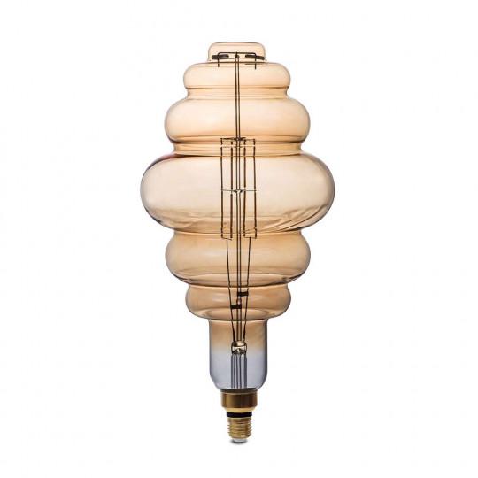 Ampoule LED BD200 8W Dimmable E27 Forme Lanterne - Blanc Très Chaud 1800K