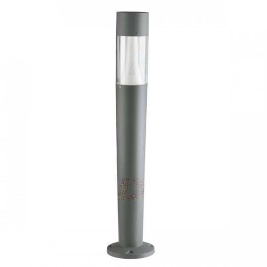 Potelet à fixer au sol pour 3 ampoules GU10 étanche IP54 Graphite
