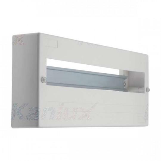Tableau Électrique mural Blanc 18P Modules