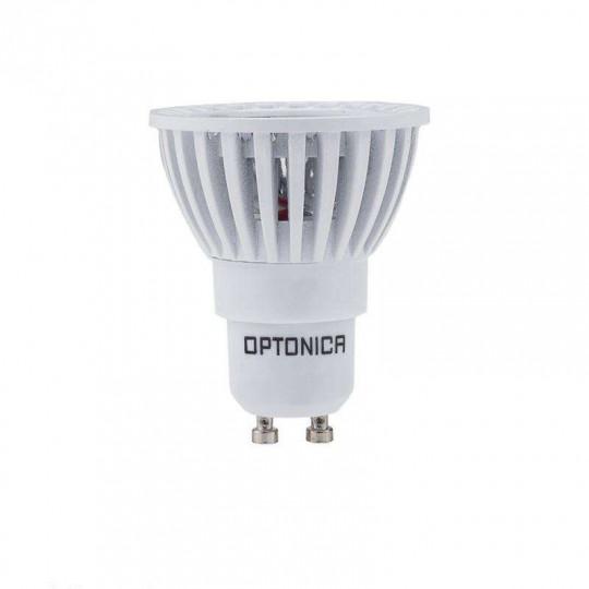 Spot LED GU10 4W Blanc équivalent à 25W - Blanc Chaud 2700K