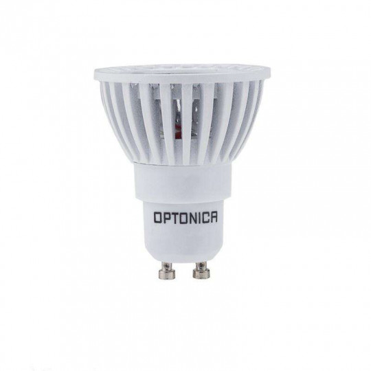 Spot LED GU10 6W Blanc équivalent à 35W - Blanc Chaud 2700K