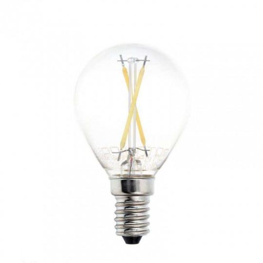 Ampoule LED E14 G45 2W équivalent à 16W - Blanc Naturel 4500K