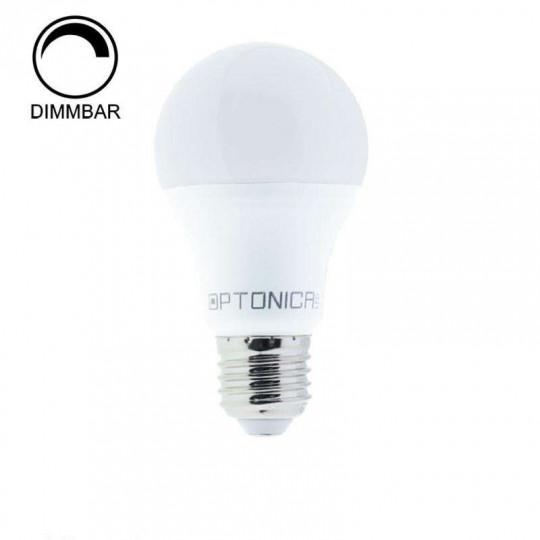Ampoule LED Dimmable E27 A60 10W équivalent à 80W - Blanc du Jour 6000K