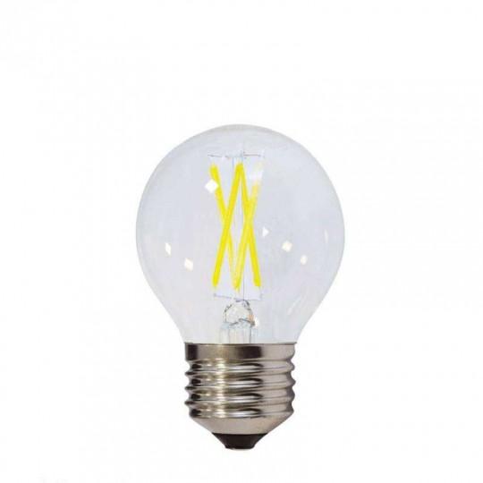 Ampoule LED E27 G45 4W équivalent à 32W - Blanc du Jour 6000K