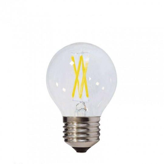 Ampoule LED E27 G45 4W équivalent à 32W - Blanc Naturel 4500K
