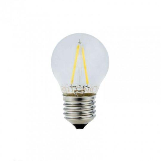 Ampoule LED E27 G45 2W équivalent à 16W - Blanc Naturel 4500K