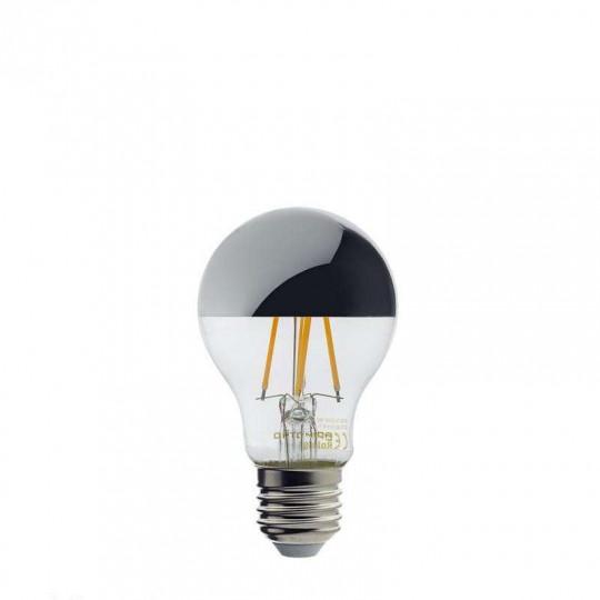 Ampoule LED E27 A60 7W équivalent à 53W - Blanc Chaud 2700K
