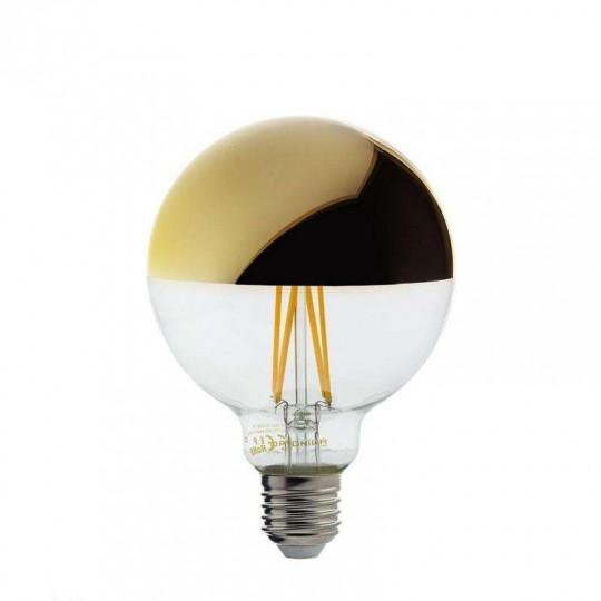 Ampoule LED E27 G95 4W équivalent à 27W - Blanc Chaud 2700K