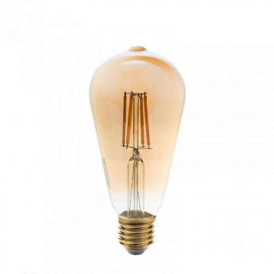 Ampoule LED E27 ST64 8W équivalent à 47W - Blanc Chaud 2500K