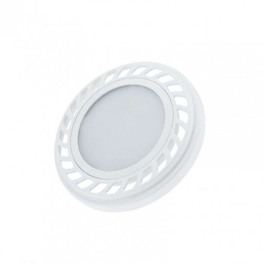 Spot LED GU10 AR111 9W Blanc équivalent à 55W - Blanc Chaud 2700K