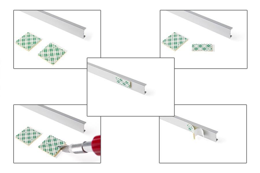 Comment installer un profilé aluminium LED ?