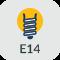 Culot E14 - Vis de 14mm