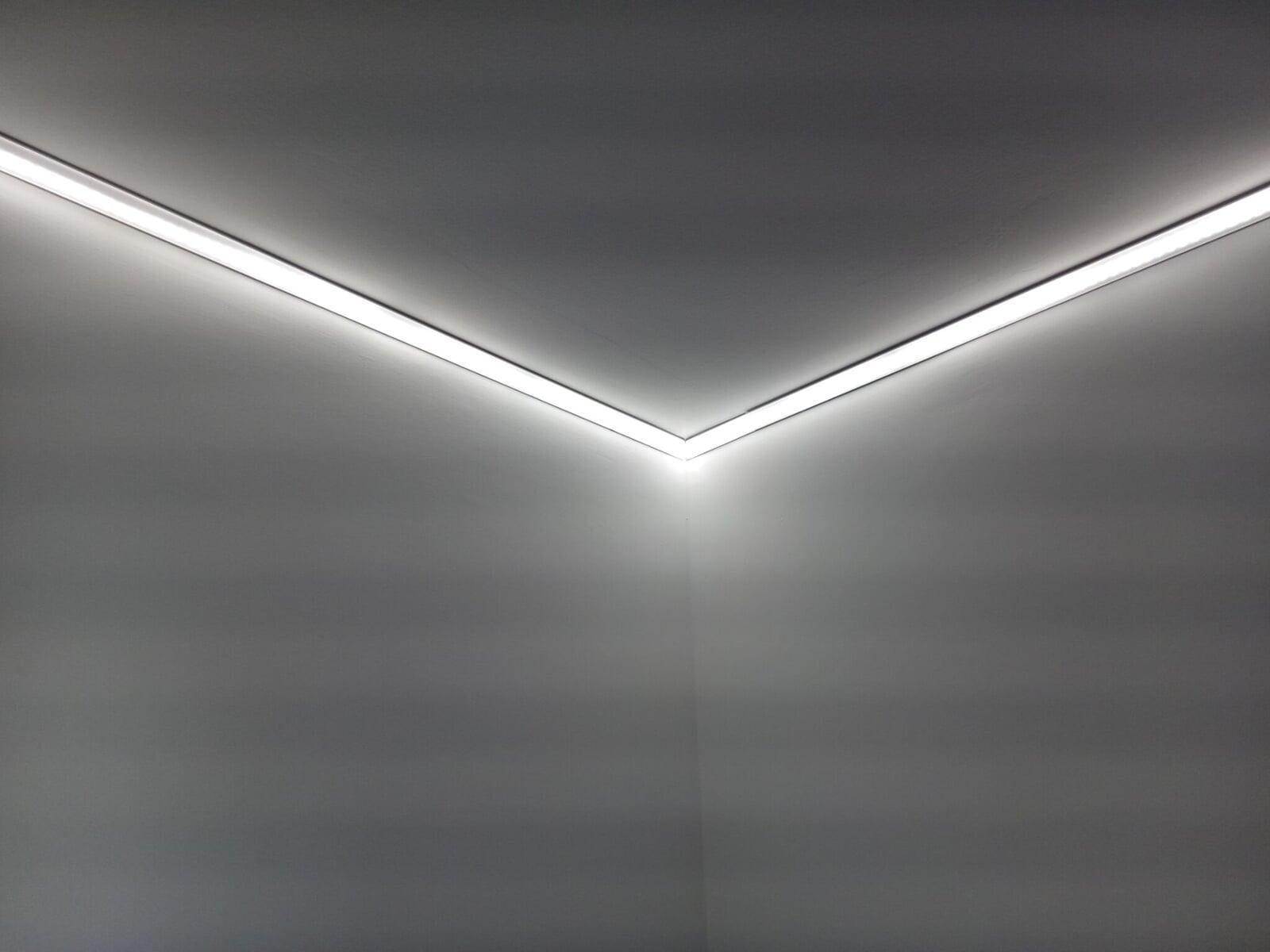 Passer les angles avec un ruban LED Le Club LED