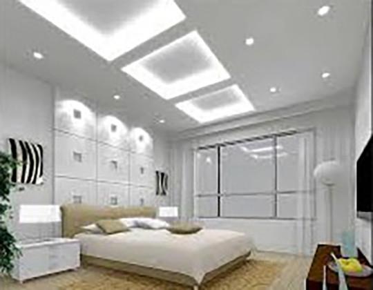 La forme et l'angle d'éclairage Le Club LED