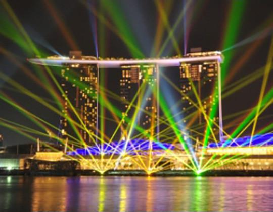 Un hôtel d'exception mis en lumière par l'éclairage LED Le Club LED