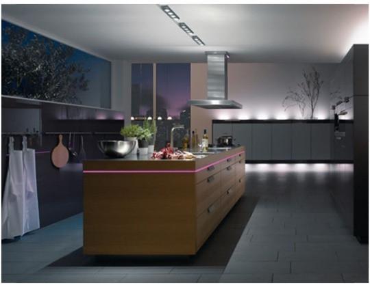 Réaliser l'éclairage d'une cuisine Le Club LED